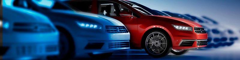 Imagem frente de carros