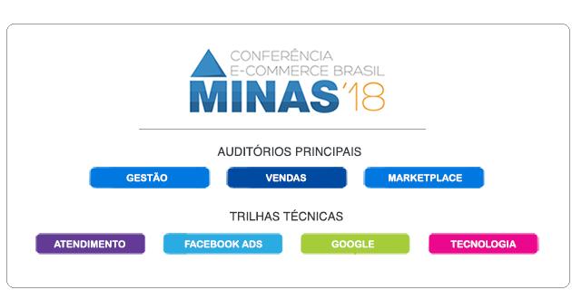 O evento contará ainda com um grande espaço para negócios, com mesas dos  principais fornecedores de e-commerce do Brasil e de MG. dfcd9360ec